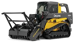 332G is John Deere skid steer loader